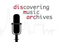 DIScovering Music ARChives emblémája