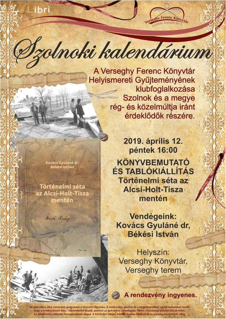 Könyvbemutató plakátja